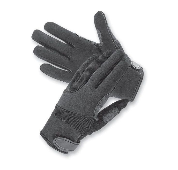 TACTICAL KEVLAR LINED CUT RESISTANT SWAT POLICE DUTY SEARCH SHOOTING GLOVES