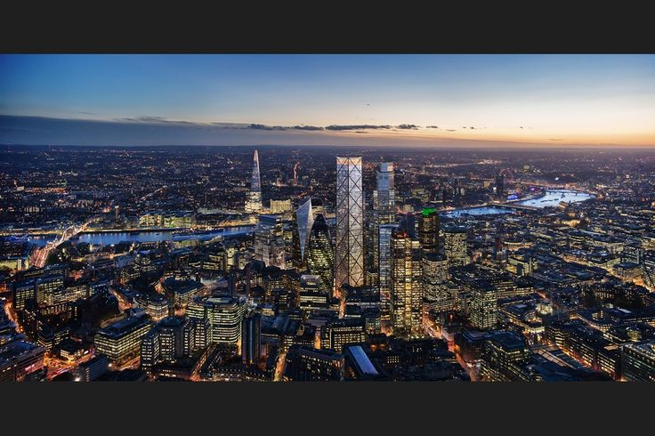 Eric Parry Architects' proposed skyscraper at 1 Undershaft