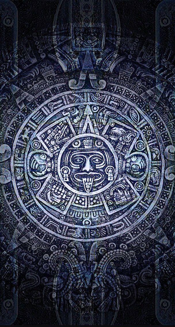 Aztec Calendar Wallpaper Backgrounds : Best images about aztec art on pinterest warrior
