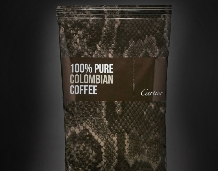 Columbian coffee by Cartier