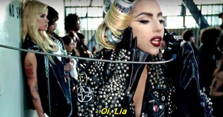 """Pepita e Lia Clark são Beyoncé e Gaga nessa versão incrível do clipe de """"Telephone"""""""