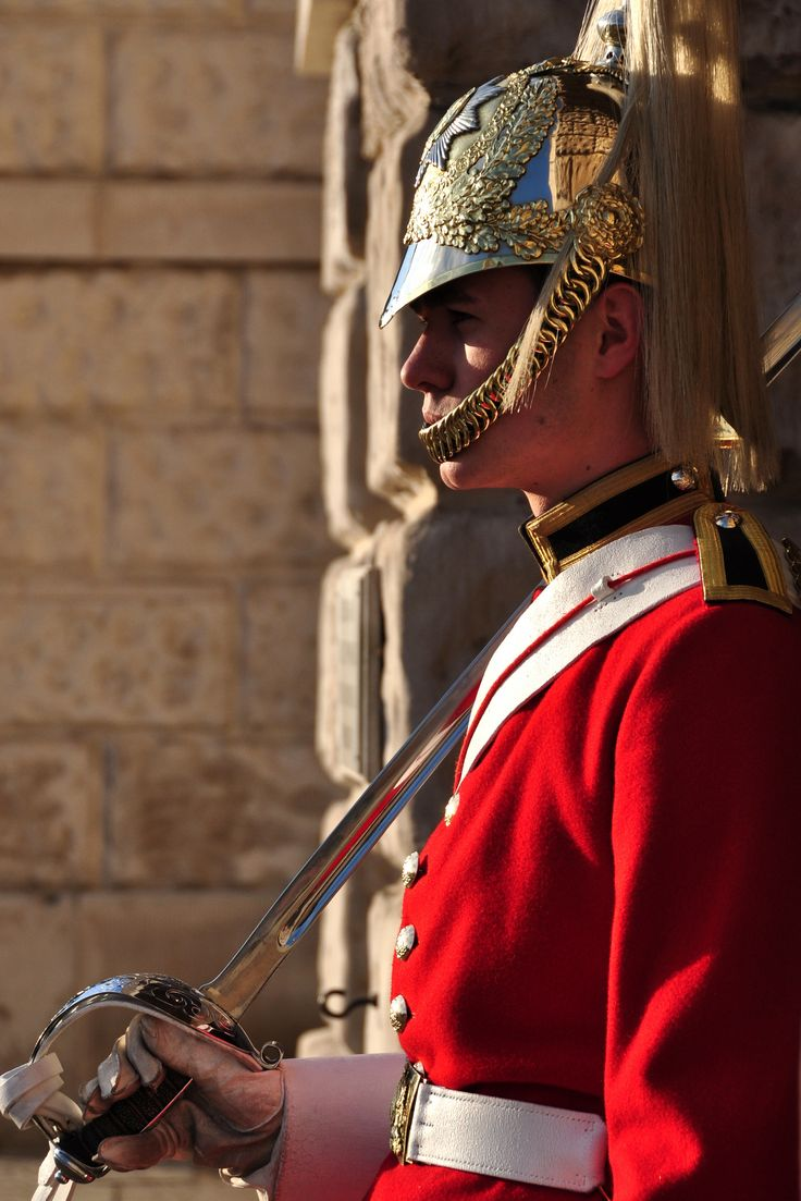 Horse Guards Parade | A member of the Queen's Life Guards on sentry duty.