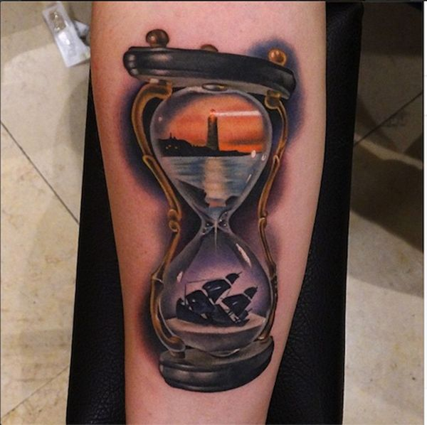 35 Lighthouse Tattoos and Meanings 14