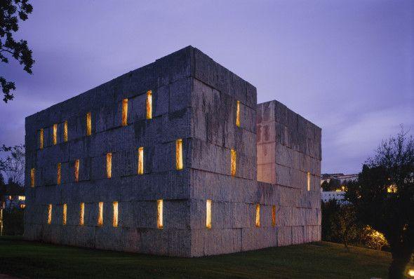 Centro de Altos Estudios Musicales in Santiago de Compostela, Spain by Antón García-Abril and Ensamble Studio, 2002.