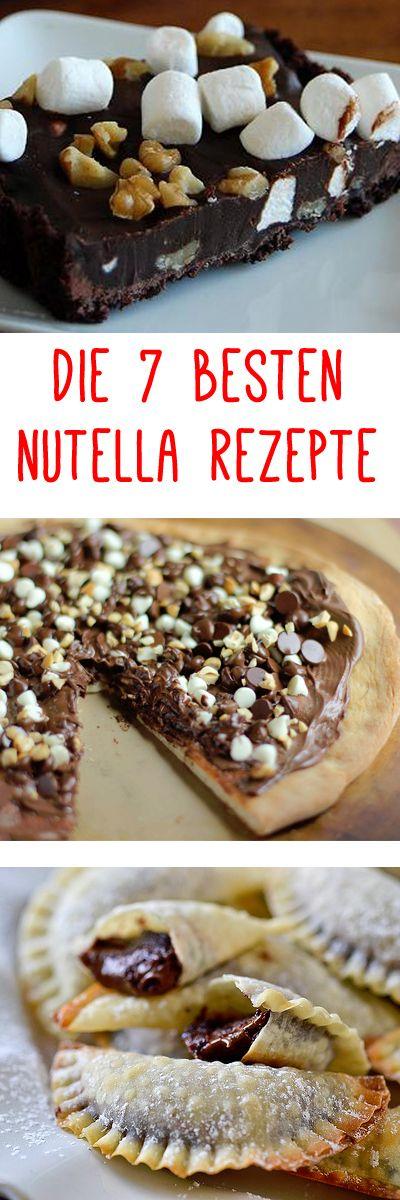 DIE 7 BESTEN NUTELLA REZEPTE! Seid ihr auch Schoko-Fans? Nutella for life? Dann müsst ihr diese genialen Nutella Snacks ausprobieren! www.gofeminin.de/gespraechsstoff/nutella-rezepte-s1228563.html