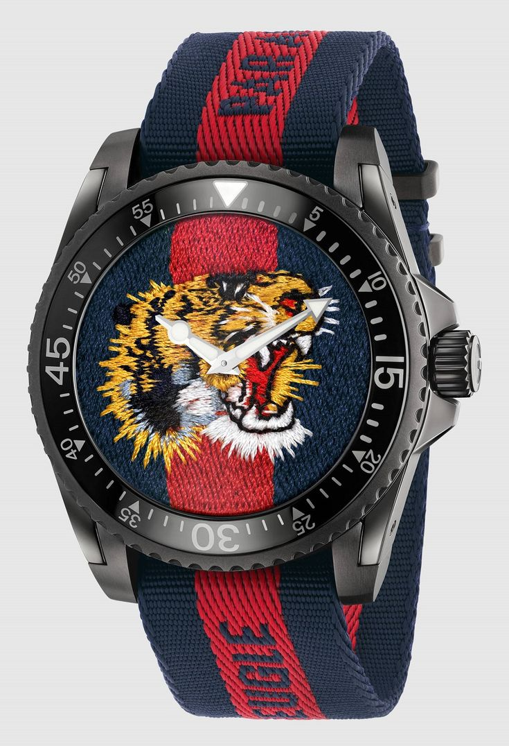 ls land nude models 2 Gucci Dive Watches For 2017 With Embroidery & Rubber Animal Dials Watch  Releases