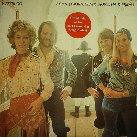 ABBA - Waterloo (CD Cover)