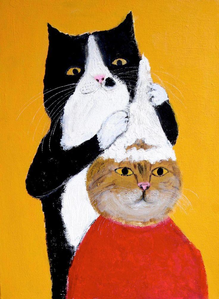 """""""Cat Beauty Salon"""" by Pepe Shimada"""