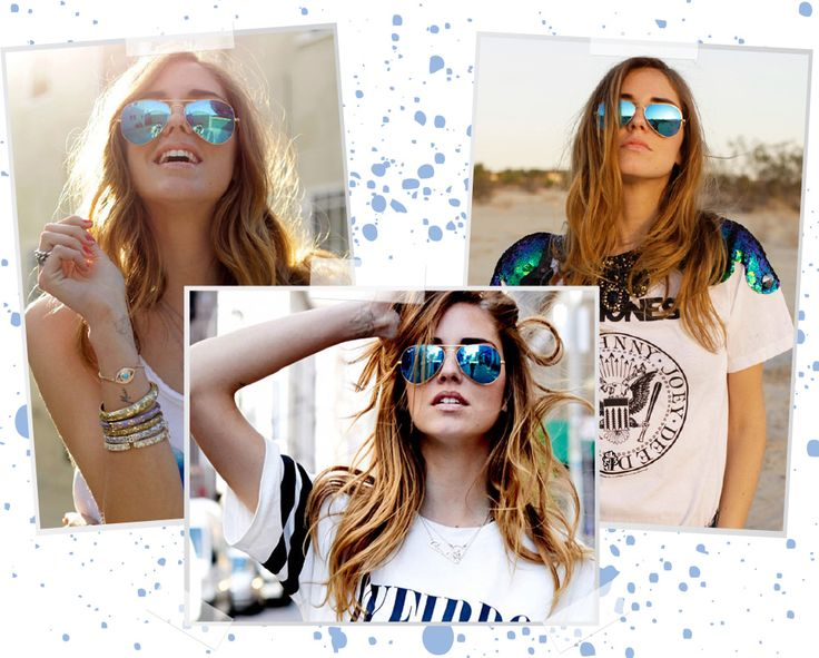 Passare.la - Óculos Espelhados Azuis  Blog Passare.la  By Paulinne Freire  http://passare.la
