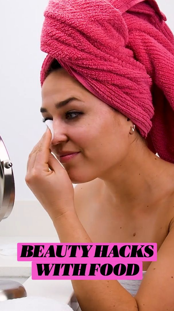 Beauty Tips For Glowing Skin, Health And Beauty Tips, Beauty Skin, Beauty Care, Diy Beauty, Beauty Makeup, Beauty Hacks, Blackheads On Nose, Body Hacks