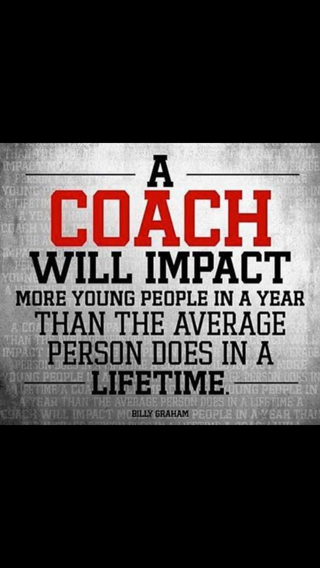 This reminds me of my dad. As a coach and a father he was a great source of inspiration for his kids and players