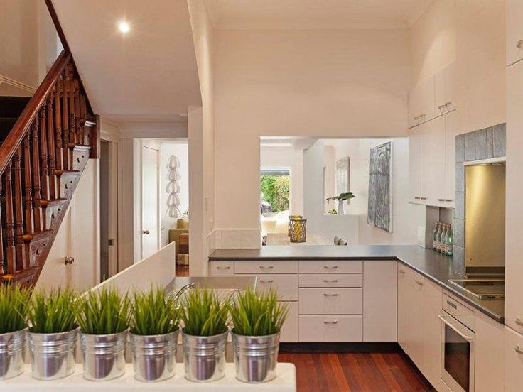 Kitchen decoPlants Can, Style For Sal, Macetas, Cleaning Kitchens, Layout Ideas, Kitchens Decor, Cuina Escala, Grass Pots, Grass Plants