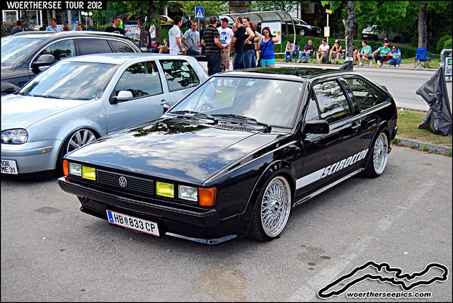 Black VW Scirocco by retromotoring, via Flickr