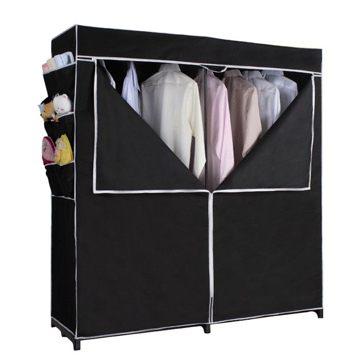 Found It At Wayfair   H X W X D Portable Closet In Black