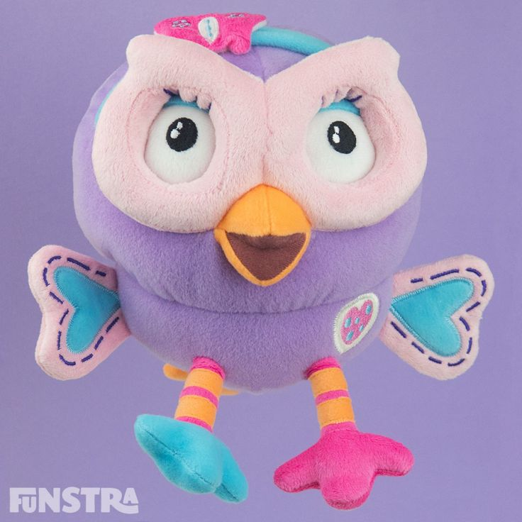Hootabelle Beanie Soft Toy from Hoot Hoot Go and Giggle and Hoot