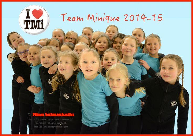 A promo picture of Team Minique (preliminary level) FIN April 2014