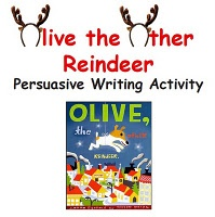 Students will listen to and discuss the book and then choose an animal they would like to be. They then fill out a Job Application as that animal to be a part of Santa's reindeer team. That information is used to write a persuasive letter to Santa listing at least three reasons why their animals would make a great additio...
