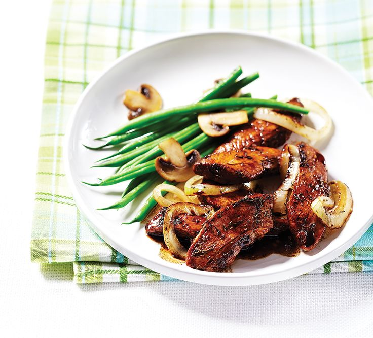 Dive into a delicious, protein-packed meal with Clean Eating's tangy balsamic chicken servedalongsidecrisp beans and meaty mushrooms. CleanEatingis not a diet; it's a lifestyle approach t…