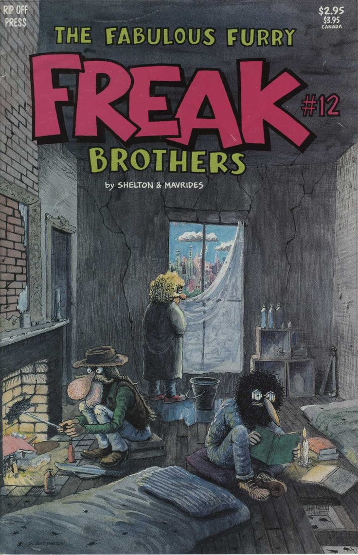 Alan ford gruppo t n t ubc enciclopedia online del fumetto - The Fabulous Furry Freak Brothers 12 1990