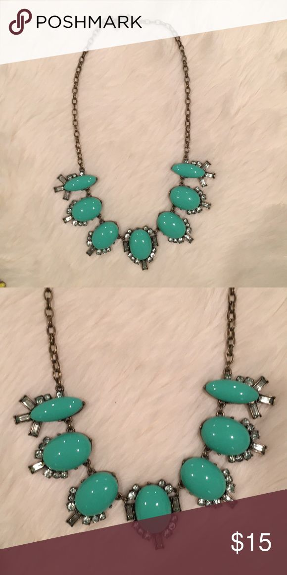 J. Crew Teal Necklace J. Crew Teal Necklace J. Crew Jewelry Necklaces