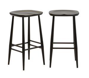 Bar stool - Black by Ercol