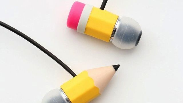 These Earbuds Will Make It Look Like a Pencil Is Sticking Through Your Brain.