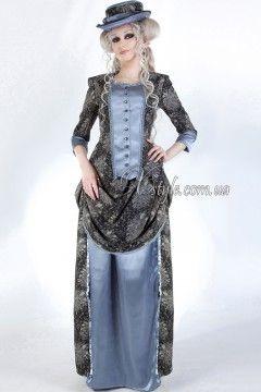 Фото - Викторианское платье конца 19 ст.