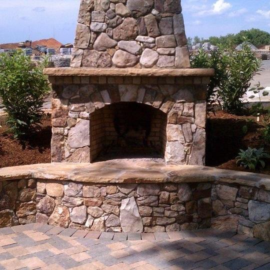 FireRock Outdoor Fireplace Kit | Outdoor fireplace patio, Outdoor fireplace, Outdoor fireplace kits
