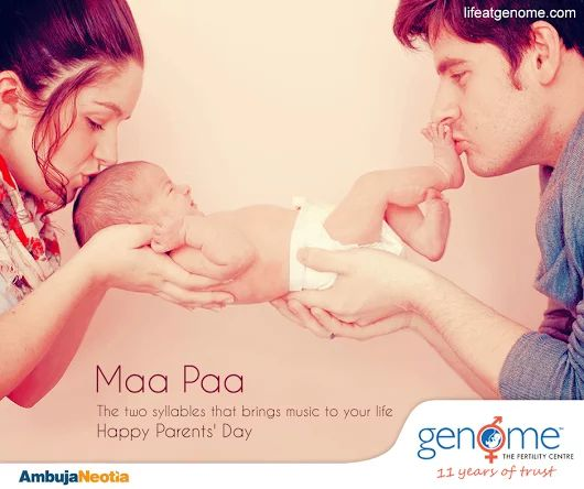 Parenting isn't a practice, it's a daily learning experience. Genome is glad to help you discover the joy of #parenthood. Celebrate Global Day of Parents (1st June) with Genome !