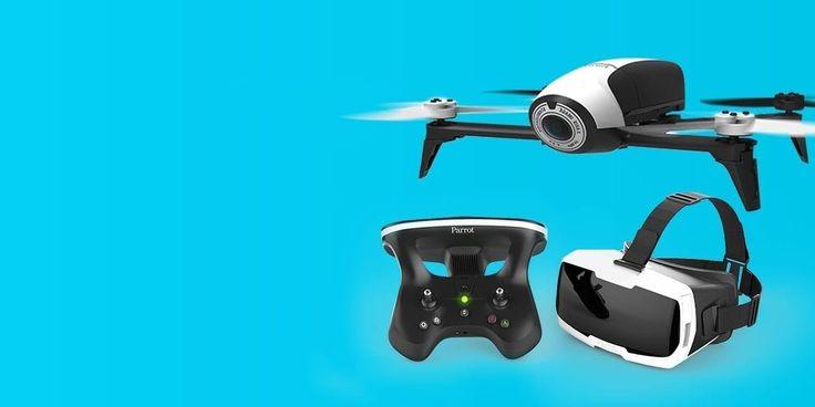 Bebop 2 to połączenie aerodynamiki, stylu i solidności w lekkim i kompaktowym dronie.Tylna lampa błyskowa LED o dużej mocy zapewnia lepszą widocz - sprawdź na saturn.pl