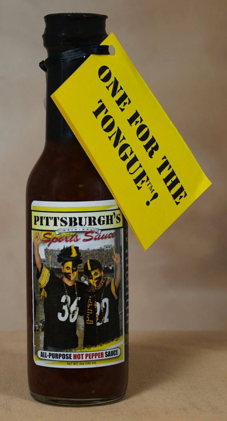 Pittsburgh Sport Sauce Hot Pepper Sauce - A legacy of the 'Burgh, a ...
