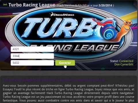 Turbo Raceing League Triche