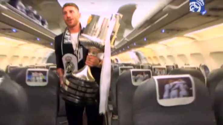 Real Madrid  BEHIND THE SCENES: Copa del Rey Final 2014 Barcelona-Real Madrid