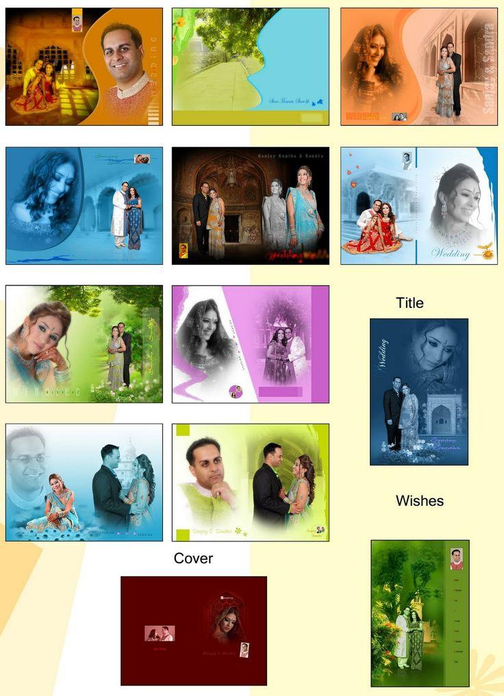 editable wedding card design free download indian wedding album
