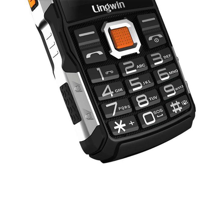 Lingwin N2 2.4 Inch 3100mAh OTG Dual Sim Dual Flashlight Power Bank Long Standby Mobile Phone Sale - Banggood.com  #smartphones #cellphones #mobile