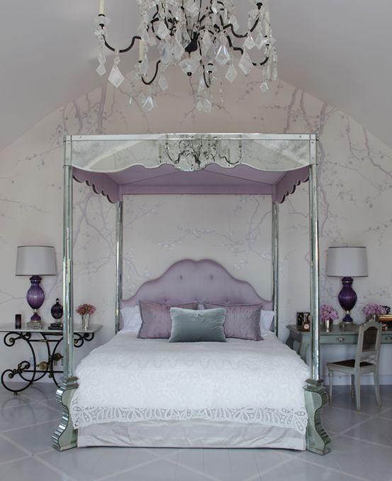 -Martyn Lawrence Bullard Designs...the bedroom of Ozzy and Sharon Osborne.