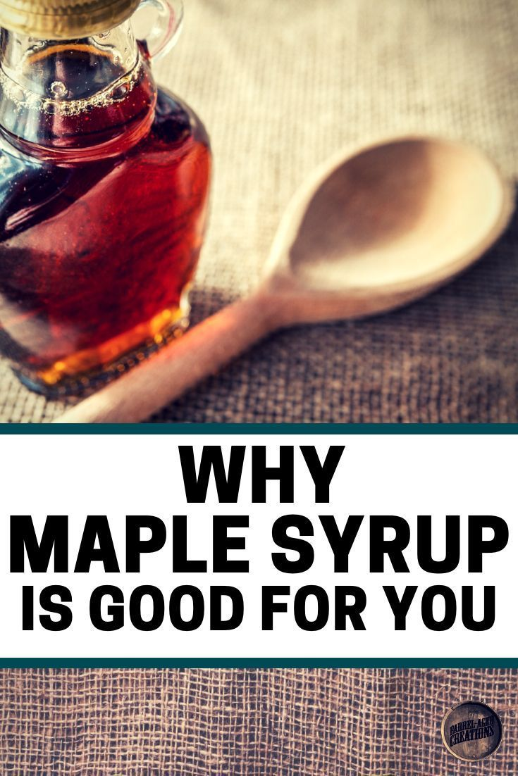 type of maple syrup on paleo diet