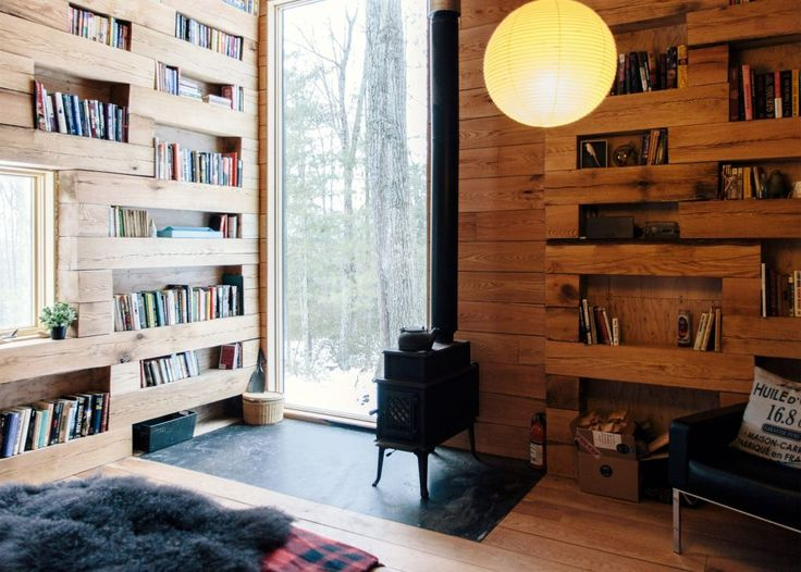 Studio Padron Creates Secluded Library In The Woods Of New York State Good Ideas