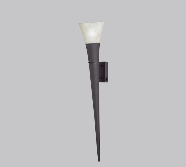 2529211-24 Trio - nástenné svietidlo - hrdza - 800mm