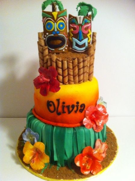 luau cakes | Tiki Luau - Cake Decorating Community - Cakes We Bake