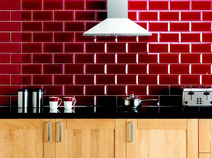 Awesome The Bevelled Brick Style Of These Glass Ebro Tiles Is Contemporary And Bang  On Trend.