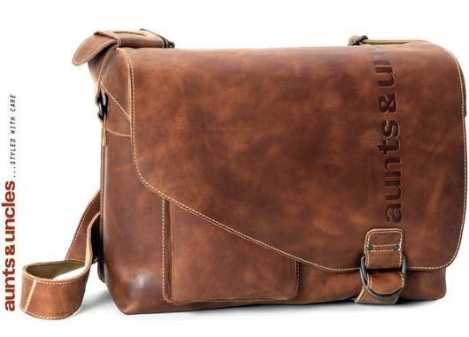 Aunts & Uncles Big Judd Postbag L vintage tan 40556-30 | Tassen | Dames | Winkelhorst Ledermode & Lederwaren