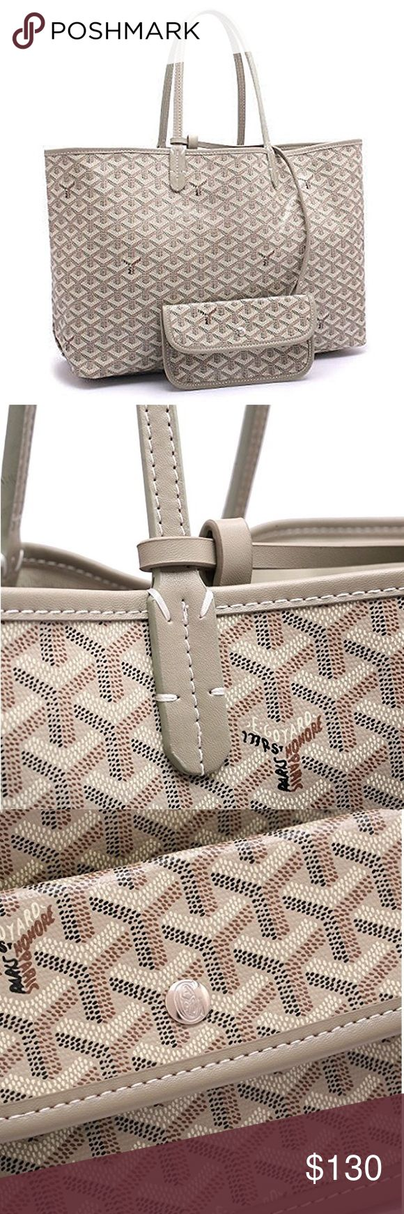 Goyard tote St. Louis PM light beige. This bag is brand new with tags still in dust bag. Price reflects authenticity. goyardd Bags Totes