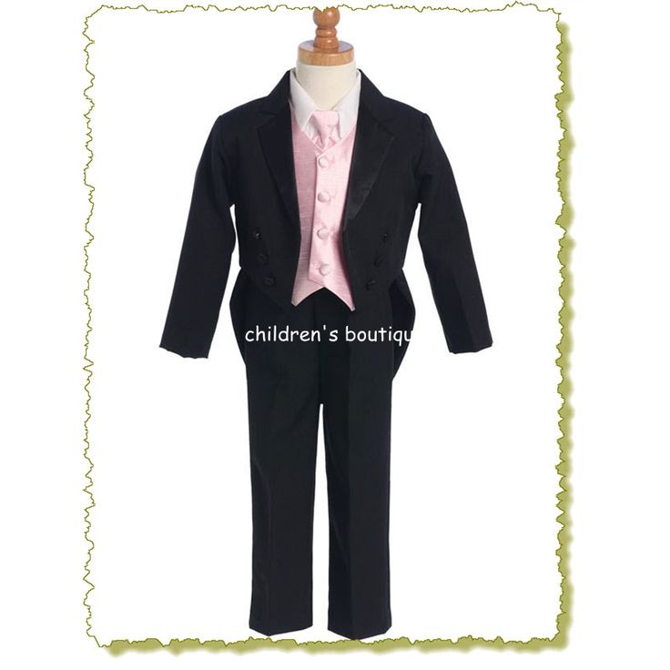 Tuxedo With Vest And Necktie