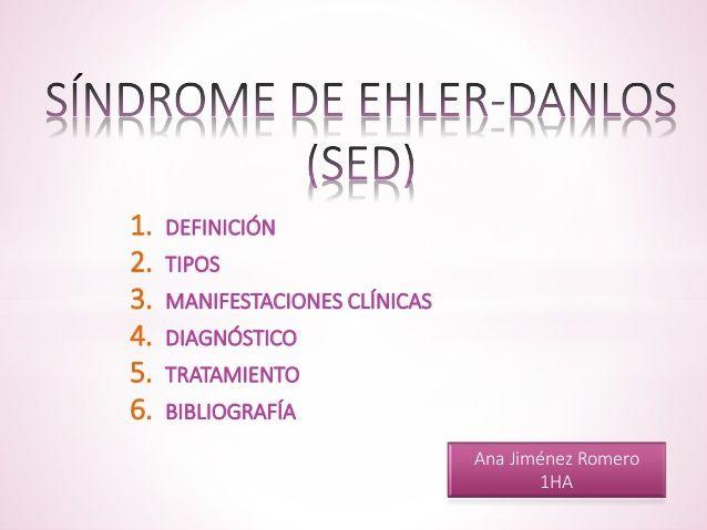 Síndrome de Ehler-Danlos
