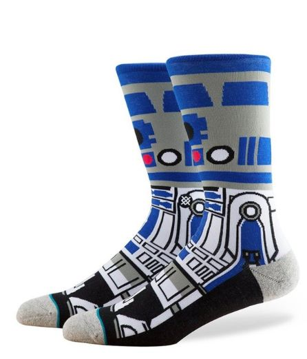 Prepare For Episode 8 With These Stance Men's #R2-D2 #Crew #Socks #Starwars Available Now At https://twitter.com/ShoppingJul/status/716954364355747840