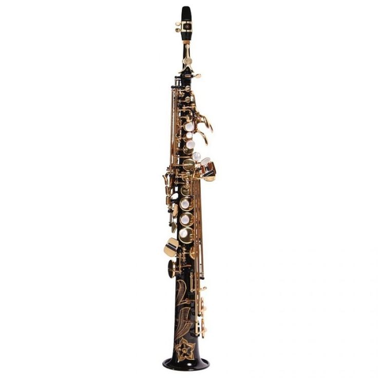 YSS-875EXB Bb Soprano Saxophone - A sax that will take you to the top... Yamaha Custom EX sopranos are an improved version of the classic YSS-875, already considered by many to be the finest soprano saxes ever made. The new design with its G2 neck offers even broader expressive capabilities with wide dynamics, precise intonation, and a gorgeous sound with rich harmonics. The YSS-875EX comes with two necks - one straight and one curving - to suit different playing preferences.