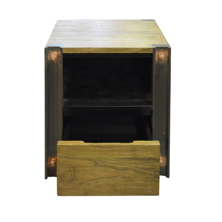 Industrial inspired Side Cabinet