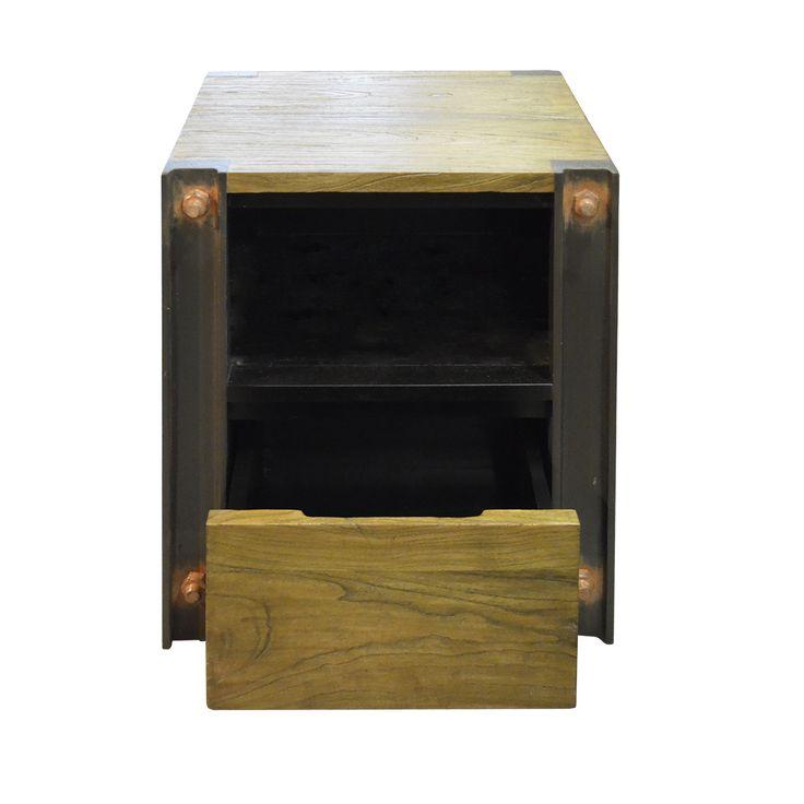 Industrial side cabinet - Hanks. Industrial inspired Side Cabinet