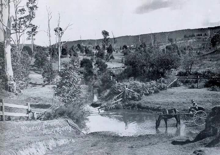 Wheeny Creek at Kurrajong, North West of Sydney (year unknown). v@e.